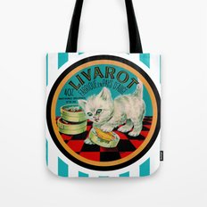 Kitty & French Cheese Tote Bag