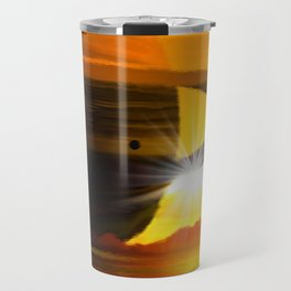 Saturn`s  ferner Bruder. Travel Mug