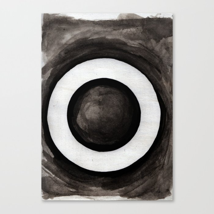 - O - Canvas Print