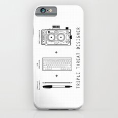 Triple Threat Designer iPhone 6 Slim Case