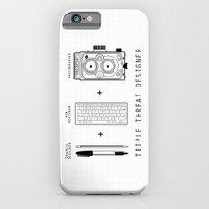 Triple Threat Designer Slim Case iPhone 6