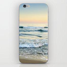 Serenity sea. Vintage iPhone Skin
