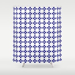 Maltese cross 1 Shower Curtain