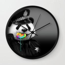 LOLLYPOP COP Wall Clock