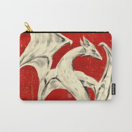 White Dragon Carry-All Pouch