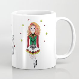 Irish Dancing Girl Coffee Mug