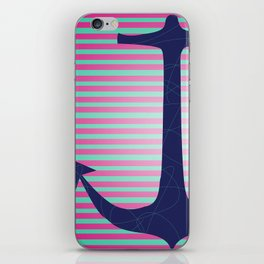 Lonely Anchor iPhone Skin