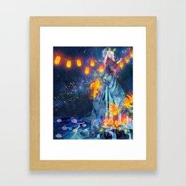 Moon Festival Framed Art Print