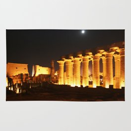 The night and the moon at Temple of Luxor, no. 29 Rug