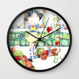 Snow White and the cooperative. Wall Clock