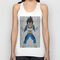 vegeta Tank Tops featuring Prince Vegeta by bmeow