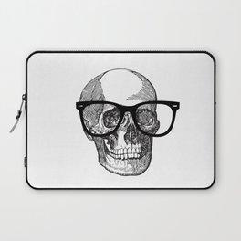 I die hipster - skull Laptop Sleeve