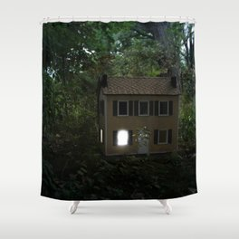 I'll Leave a Light On For You Shower Curtain