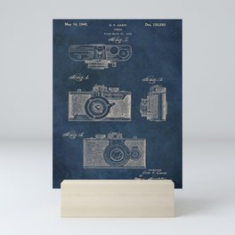 Cazin Camera patent art Mini Art Print