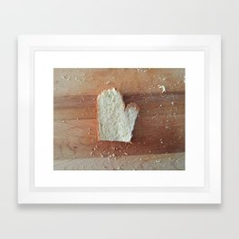Mitten State #puremichigan Framed Art Print