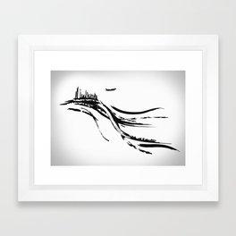 Transfert Framed Art Print