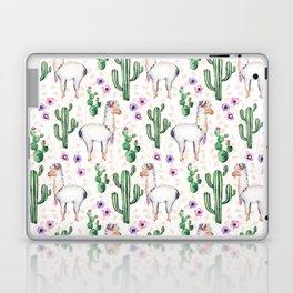 Llama Llamarama + Cactus Laptop & iPad Skin