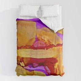 Golden Hills at Twilight Comforters