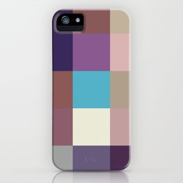 Kami - Colorful Decorative Abstract Pixel Art Pattern iPhone Case
