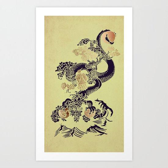 Shen-Lung Art Print