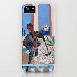 Midnight Rendezvous iPhone Case