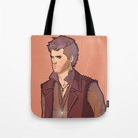 goth Tote Bags featuring Goth Cas by rdjpwns