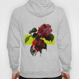 Vintage Blooms /Neon Block Hoody