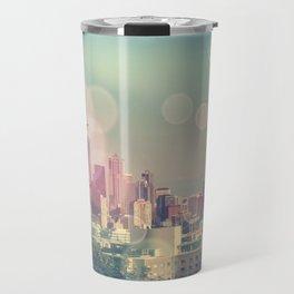 Dreamy Seattle Skyline Travel Mug