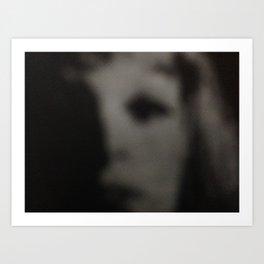 GIRL IN TROUBLE Art Print
