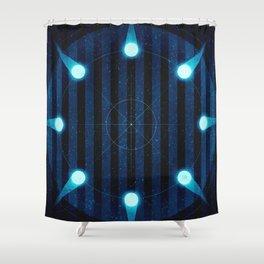 Sol System - Kuiper Belt Shower Curtain