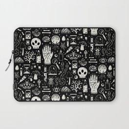Curiosities: Bone Black Laptop Sleeve