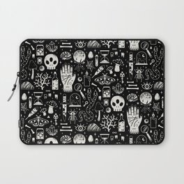 Curiosities: Bone Black Laptop Sleeve