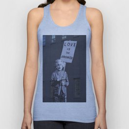 Love is the Answer Unisex Tank Top