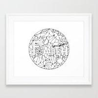 faith Framed Art Prints featuring Faith by Gosia&Helena