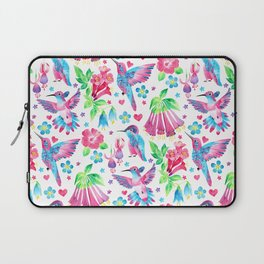 Humming Bird Garden Laptop Sleeve