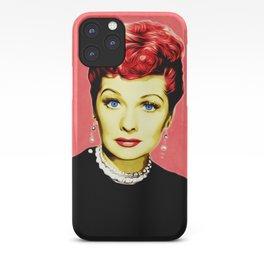 Lucille Ball - Lucy - Pop Art iPhone Case