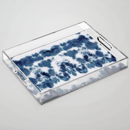 Shibori Not Sorry Acrylic Tray