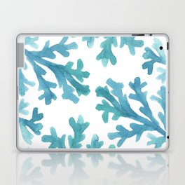 Blue Ombre Coral Laptop & iPad Skin