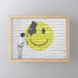 No Happiness Allowed! Framed Mini Art Print