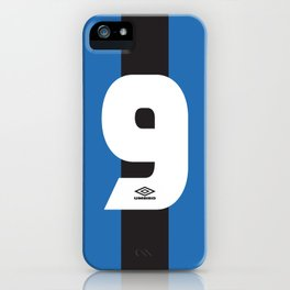 Internazionale Milano Number 9 iPhone Case