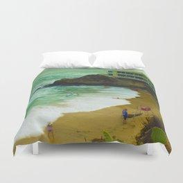 LaGuNa Beach Ca Duvet Cover
