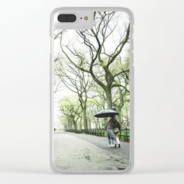 New York City Romance Clear iPhone Case