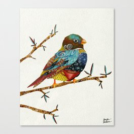 Twilight Bird Canvas Print