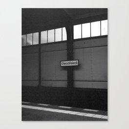 Gleisdreieck - Berlin Canvas Print