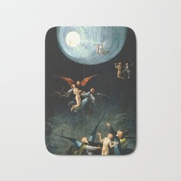 Hieronymus Bosch - Ascent of the Blessed 1504 Bath Mat