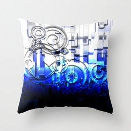 Caeruleus Throw Pillow