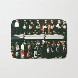 Vintage Coke Bottles Bath Mat