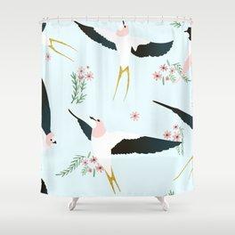 Birds #society6 #decor #buyart Shower Curtain