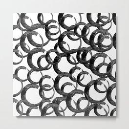 Enso Of Zen 20I by Kathy Morton Stanion Metal Print