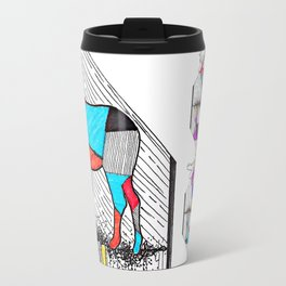 A wounded deer leaps the highest Travel Mug